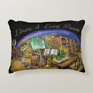 Bibliotheek van het Leven Dromen Accent Kussen