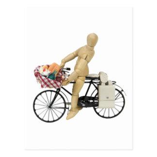 BicyclePicnicBasket120509 exemplaar Briefkaart