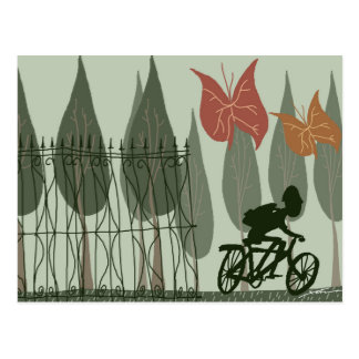 Bicycling Briefkaart