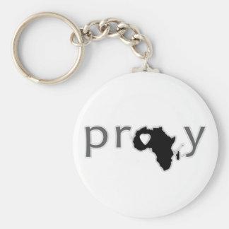 Bid | Afrika Basic Ronde Button Sleutelhanger