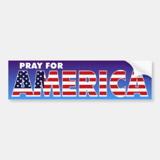 Bid voor Amerika Bumpersticker