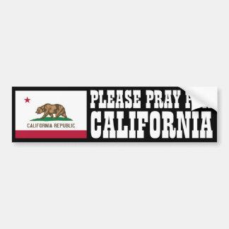 Bid voor Californië Bumpersticker