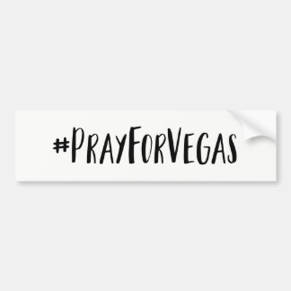 Bid voor de Sticker van de Bumper Vegas