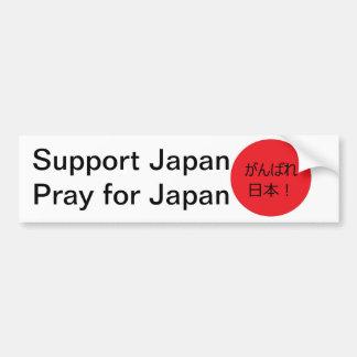 Bid voor Japan Bumpersticker