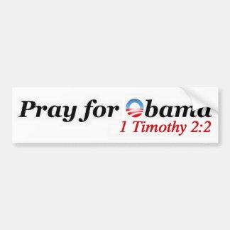 Bid voor Obama Bumpersticker