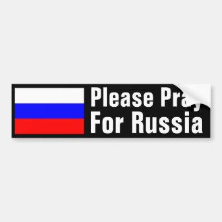 Bid voor Rusland Bumpersticker