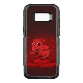 BIDI KWADE VREEMDE SamsungGalaxy S8 + Cs OtterBox Commuter Samsung Galaxy S8+ Hoesje