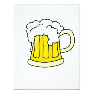Bier 10,8x13,9 Uitnodiging Kaart