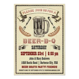 Bier-B-de Uitnodiging van de q- Partij