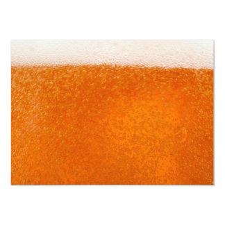 bier backround 12,7x17,8 uitnodiging kaart