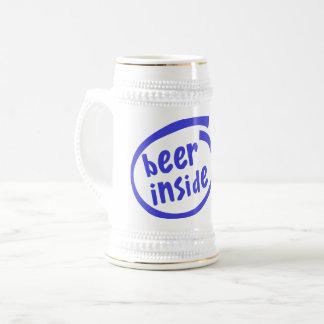 Bier binnen bierpul