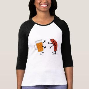 Bier & Braadworst - Grappig Vriendschappelijk T Shirt