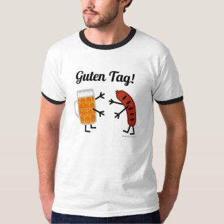Bier & Braadworst - Label Guten! - Grappige Foodie T Shirt