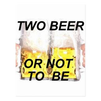 bier briefkaart
