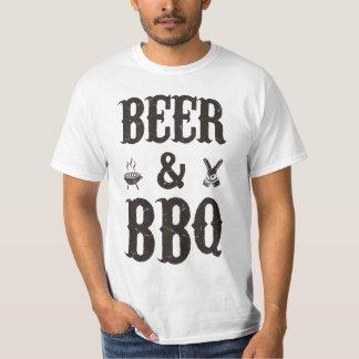 Bier en BBQ T Shirt