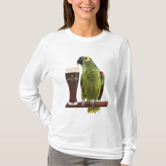 Bier en Papegaai T Shirt