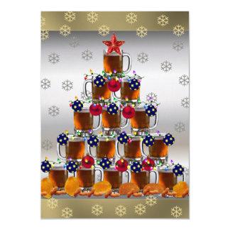 Bier en Spaanders 12,7x17,8 Uitnodiging Kaart