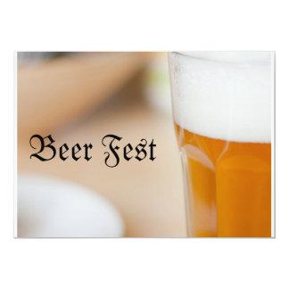 Bier Fest 12,7x17,8 Uitnodiging Kaart