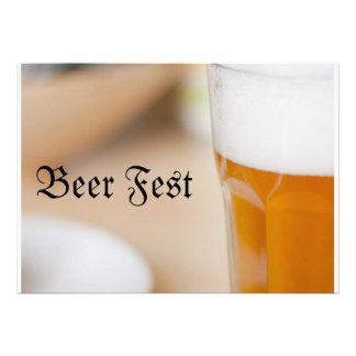 Bier Fest Custom Uitnodigingen
