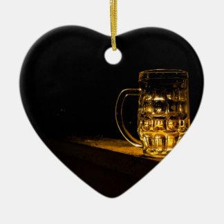 Bier… Keramisch Hart Ornament