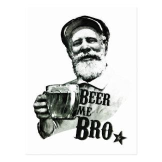 Bier me Bro. Briefkaart