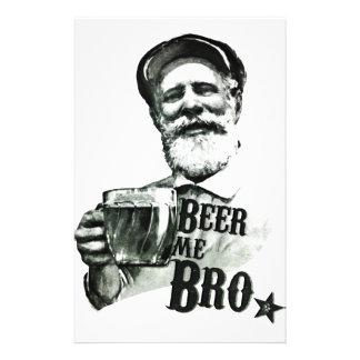 Bier me Bro Flyer 14 X 21,6 Cm