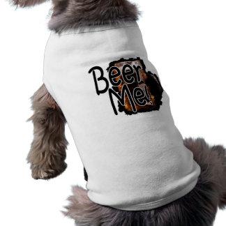 Bier me Overhemd 3 van de Hond Shirt