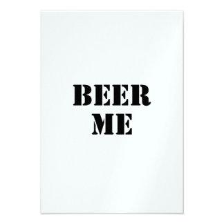 Bier me aankondiging
