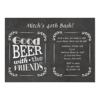 Bier met de Uitnodiging van Vrienden