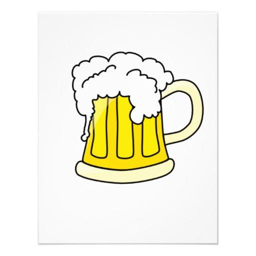 Bier Gepersonaliseerde Uitnodigingen