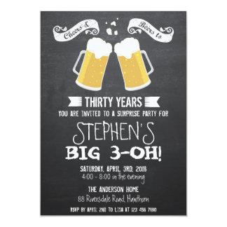 bier uitnodiging/de uitnodiging van het bordbier