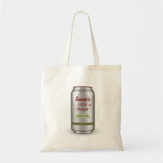 Bier van de Helper van de kerstman kan Weinig Draagtas