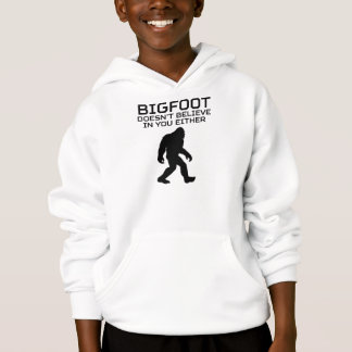 Bigfoot gelooft niet ook niet in u