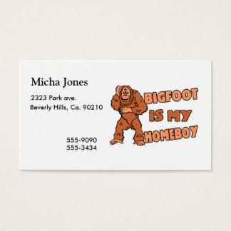 Bigfoot is Mijn Homeboy Visitekaartjes