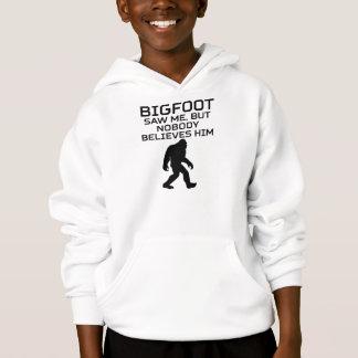 Bigfoot zag me maar niemand gelooft hem