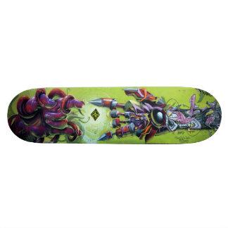 Bij de Vonk van de Verwezenlijking - het Dek van 18,4 Cm Mini Skateboard Deck