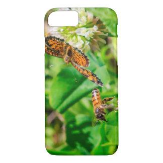Bij en Vlinder iPhone 8/7 Hoesje