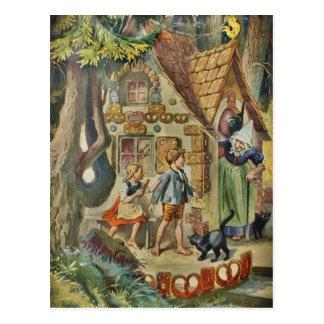 Bij het Plattelandshuisje van de Heks Briefkaart