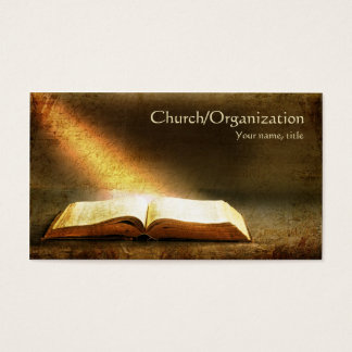 Bijbel-christendom-godsdienstig Visitekaartje Visitekaartjes