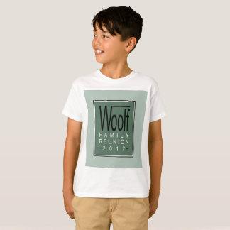 Bijeenkomst 2017 van de Familie Woolf van het kind T Shirt