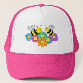 Bijen & Bloemen Trucker Pet