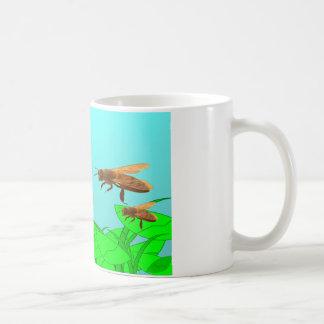 Bijen van Drie Koffiemok