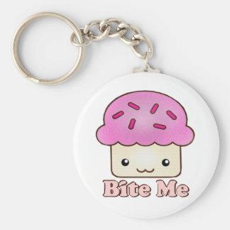 Bijt me Cupcake Sleutel Hangers