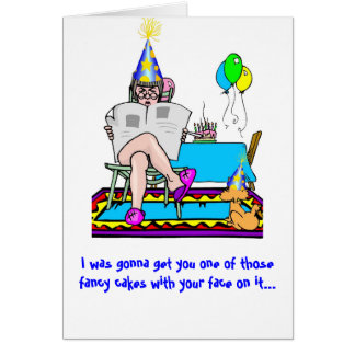 Bijt me… Verjaardag Briefkaarten 0