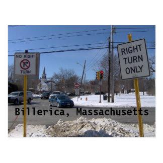 Billerica, Massachusetts Briefkaart