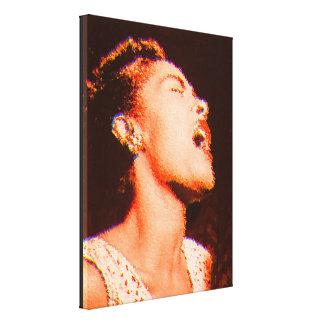 Billie Tribute Canvas Prints
