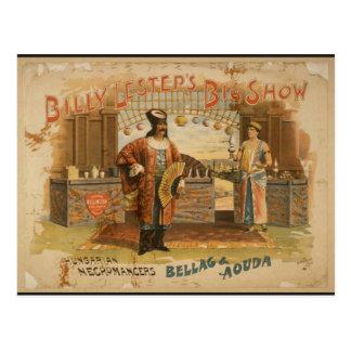 Billy Groot Lestep's toont, 'Hongaarse Briefkaart