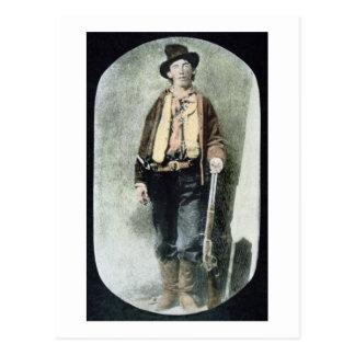 Billy het Kind (gekleurde gravure) Briefkaart