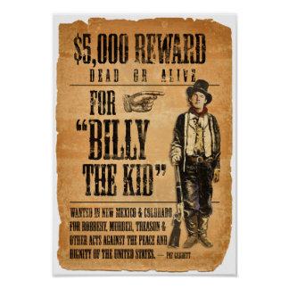 Billy het Kind Poster