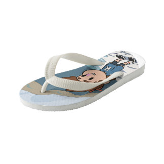 Billy-oceaan Kinder Teenslippers
